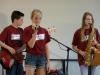 Auftritt der Schülerband 'Die Schlüsselnoten'