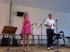 Dominik und Sophie aus der 11b moderierten den Kulturtag