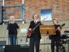 """Unsere Schülerin Isabell und Band mit dem Titel """"Eye of the tiger"""""""