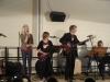 Die Band 'Schlüsselnoten' mit verschiedenen Songs