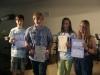 Auszeichnungen im Bereich Biologie und Chemie von Frau Mebert