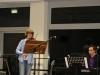 Clemens am Klavier und Marla an der Viola mit 'Fröhlicher Abschied'