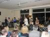 Faust einmal anders: Schüler der 12. Klasse einer eigenen Faust-Inszenierung.