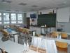 Einblick in einen Chemieraum.