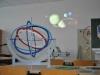Der Astronomieraum.