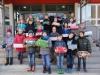 Klasse 5c organisiert Weihnachten im Schuhkarton