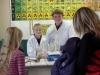 Experimente erwarten die Schüler auch in den Chemieräumen.