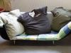 Das Sofa in der Galerie der Fachschaft Kunst.