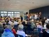 Begrüßung in der Aula - Auftritt von Little Cantica