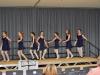 Die Balett-Gruppe bei einem Auftritt
