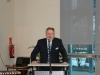 Hr. Mebert begrüßt die Gäste und erläutert das Schulprogramm.