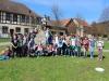 Wandern am Wandertag - Die Klassen 5a und 5b machen Meter!
